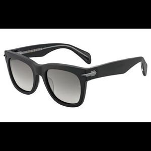 Rag & Bone black framed sunglasses